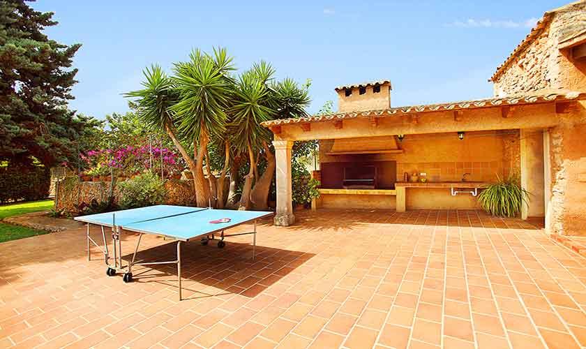 Tischtennis Finca Mallorca 10 Personen PM 6084