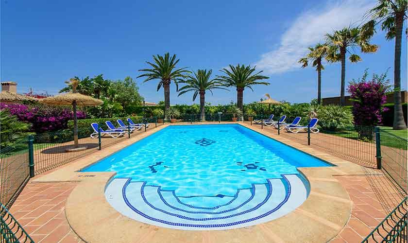Umzäunter Pool Finca Mallorca 10 Personen PM 6084