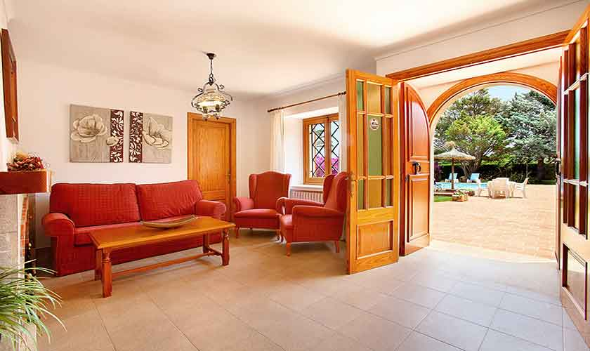 Wohnraum Finca Mallorca 10 Personen PM 6084