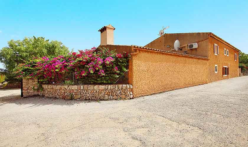 Blick auf die Finca Mallorca 10 Personen PM 6084