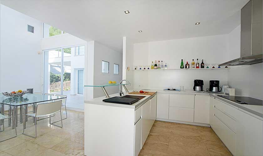 Küche Ferienvilla Mallorca PM 6088