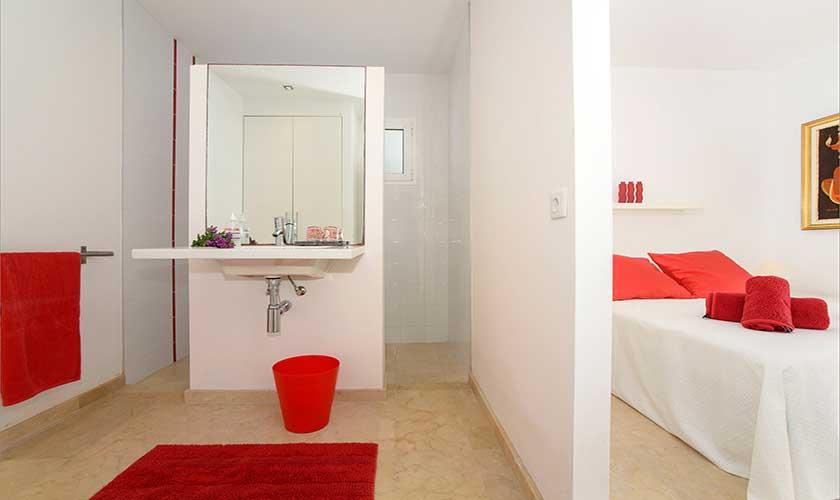 Badezimmer Ferienvilla Mallorca 12 Personen PM 6088