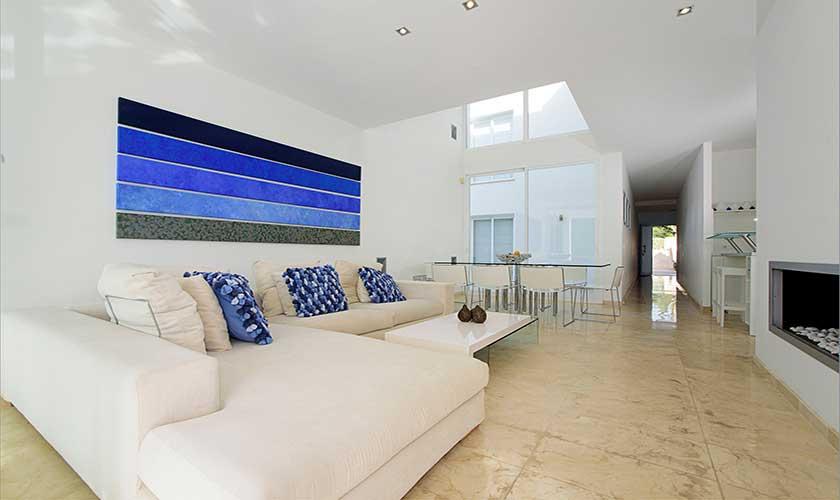 Sofas Wohnraum Ferienvilla Mallorca PM 6088