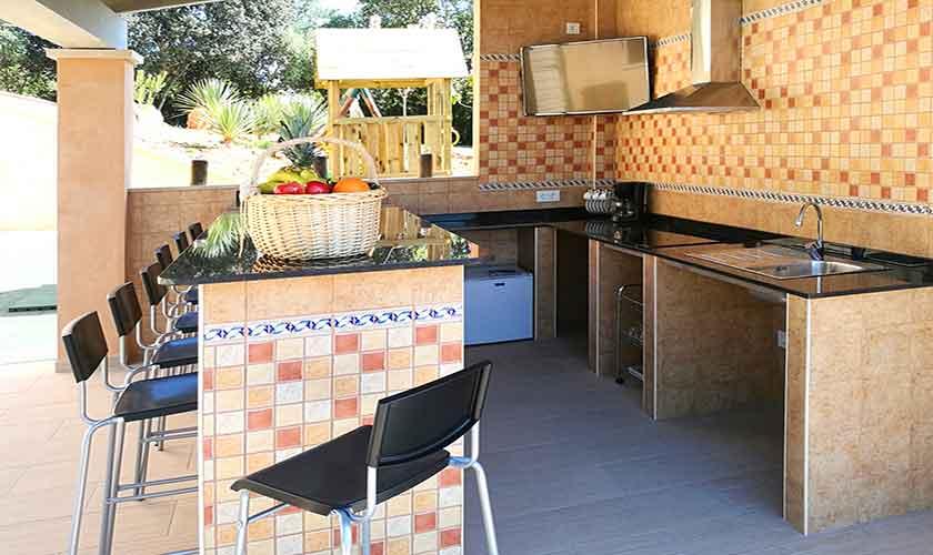 Außenküche Finca Mallorca PM 6140