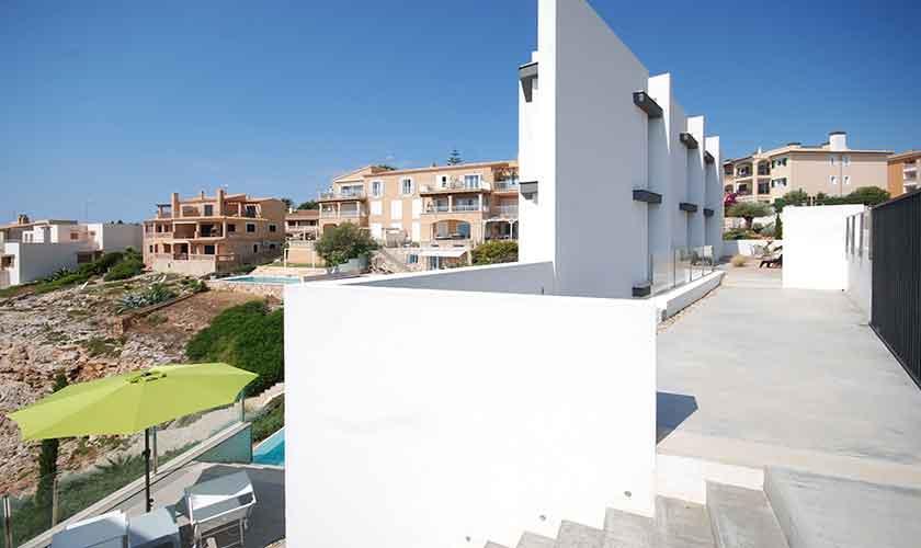 Blick auf die Design-Villa Mallorca PM 6210