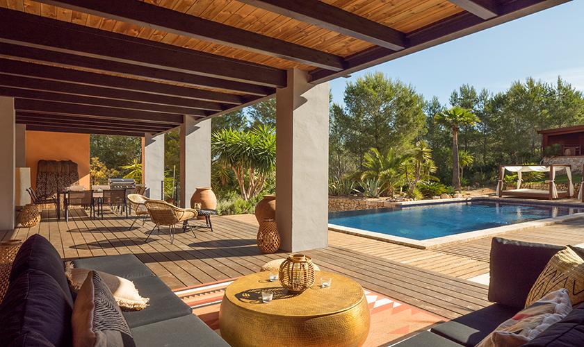 Terrasse und Luxusvilla Mallorca PM 629