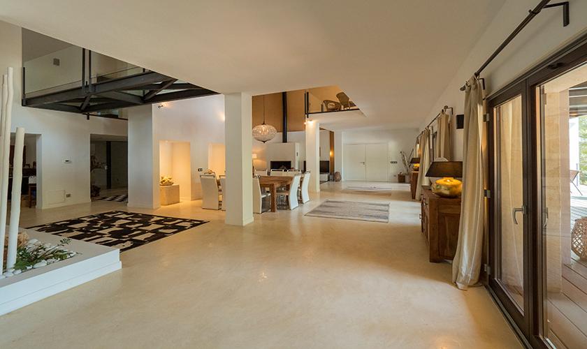 Wohnraum Luxusvilla Mallorca PM 629