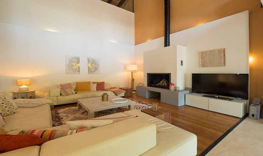 Sofas mit SAT-TV Luxusvilla Mallorca PM 629