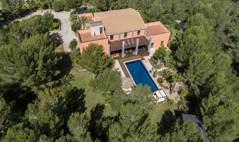 Luftbild Luxusvilla Mallorca PM 629