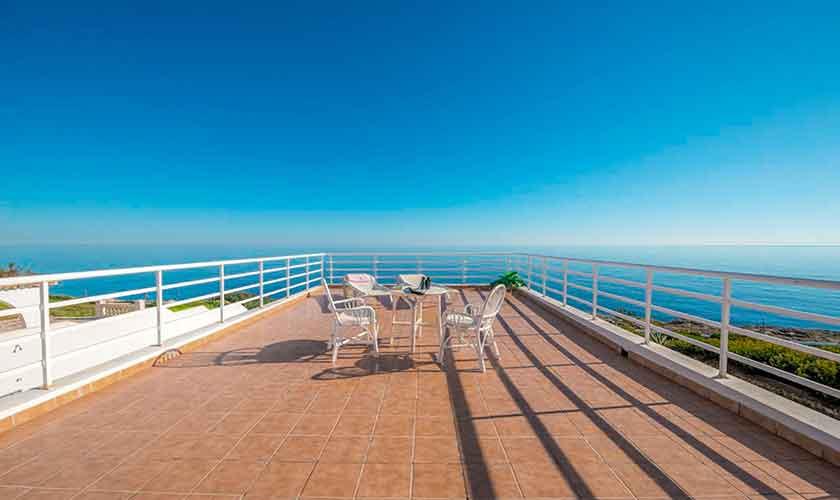 Meerblick und Terrasse Ferienvilla Mallorca PM 6310