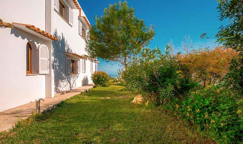 Garten Ferienhaus Mallorca PM 6310