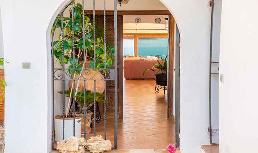 Eingang Ferienvilla Mallorca PM 6310