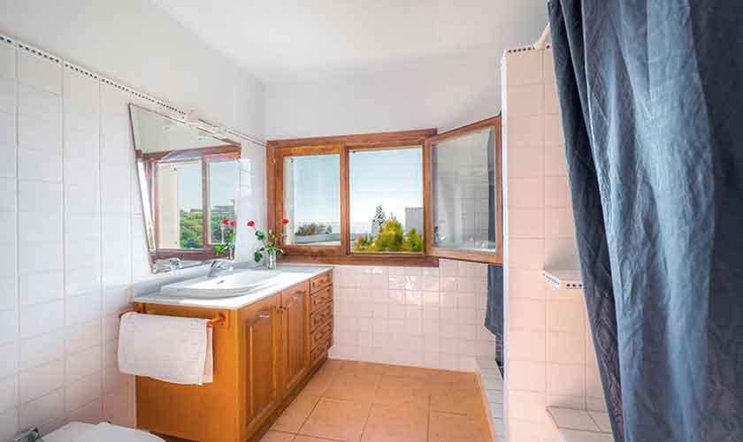 Badezimmer Ferienhaus Mallorca PM 6310