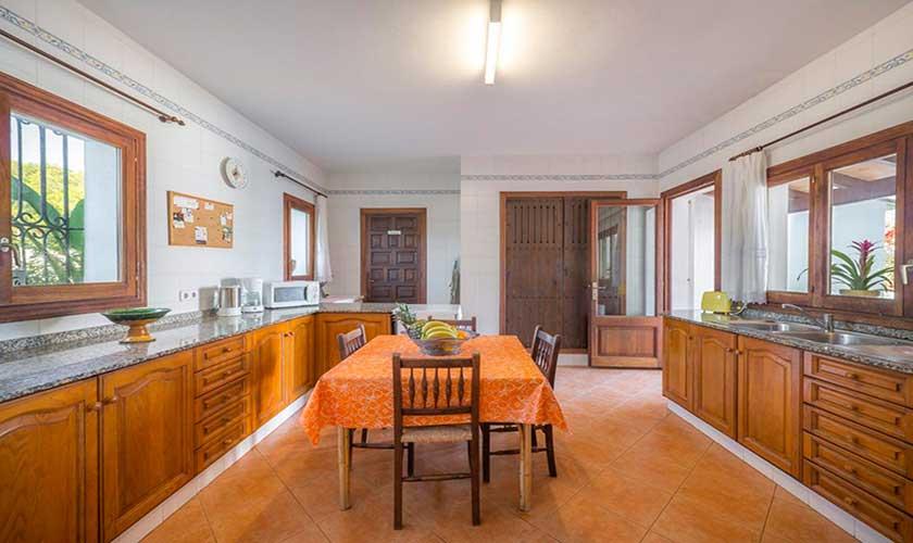 Küche Ferienvilla Mallorca PM 6310