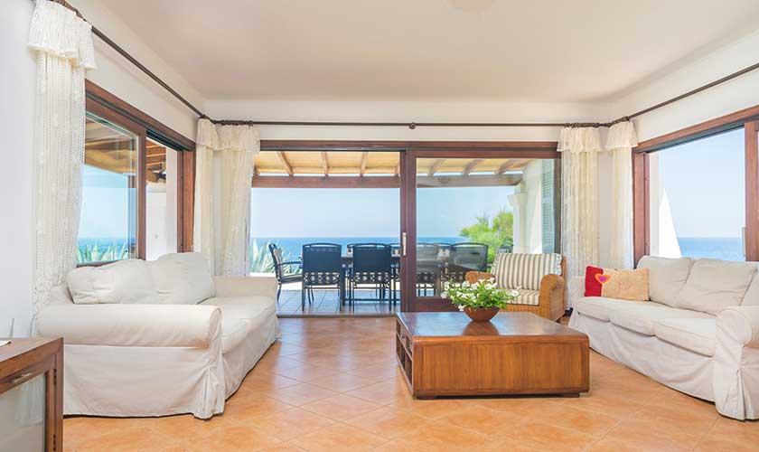 Wohnraum Ferienvilla Mallorca PM 6310