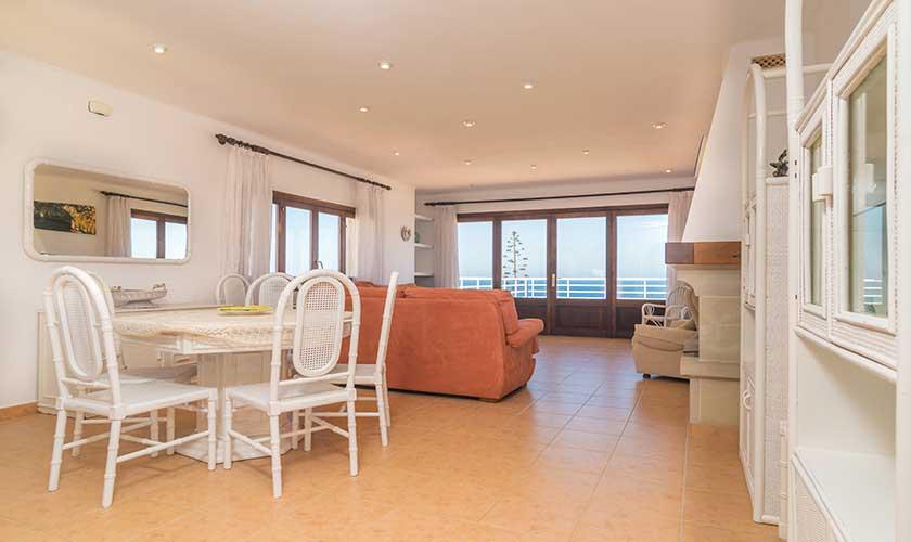 Wohnraum oben Ferienvilla Mallorca PM 6310