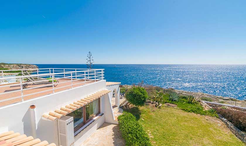 Blick von oben Ferienvilla Mallorca PM 6310
