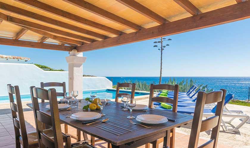 Esstisch Terrasse  Ferienvilla Mallorca PM 6310