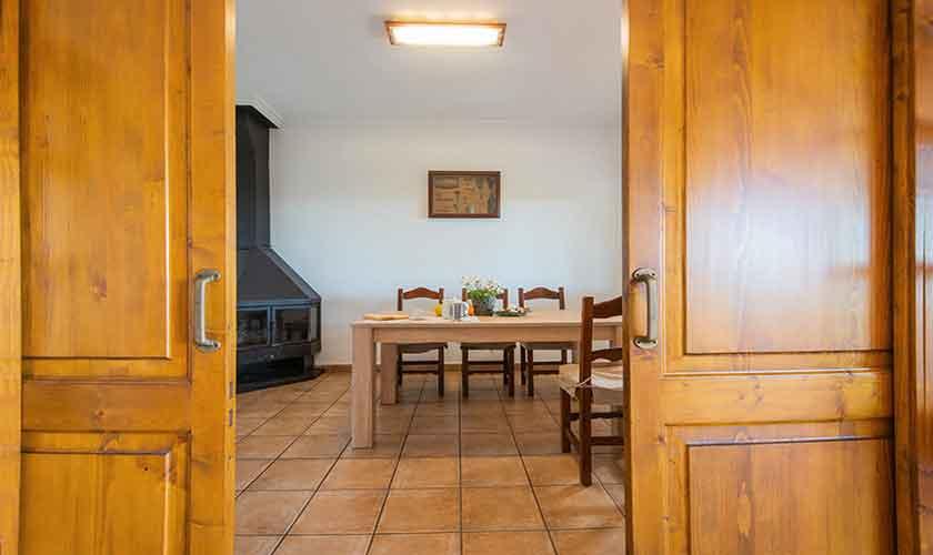 Esstisch Finca Mallorca mit Pool PM 6522
