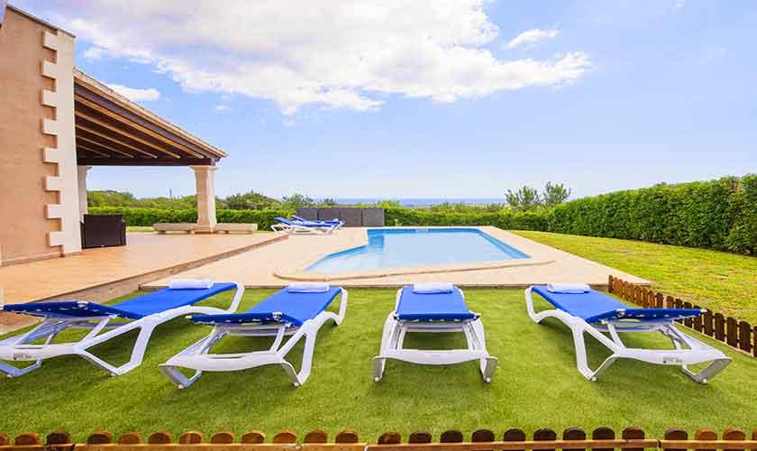 Liegen Finca Mallorca mit Pool PM 6522