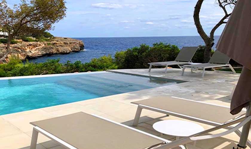 Pool und Meerblick Ferienvilla Mallorca PM 6529