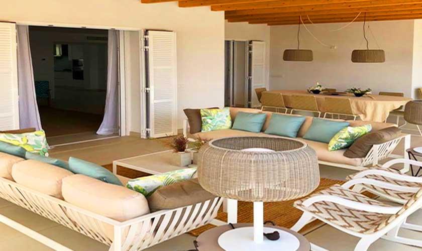 Terrasse Ferienvilla Mallorca PM 6529