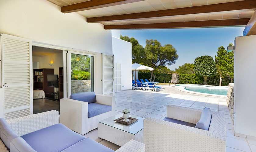 Terrasse Ferienvilla Mallorca PM 6532