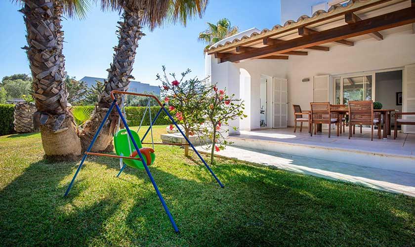 Terrasse und Garten Ferienvilla Mallorca PM 6532