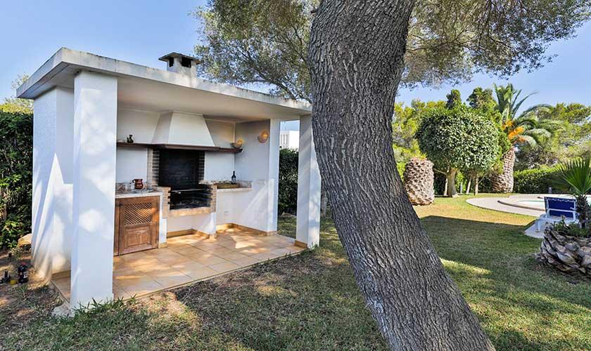 Grillplatz Ferienvilla Mallorca PM 6532