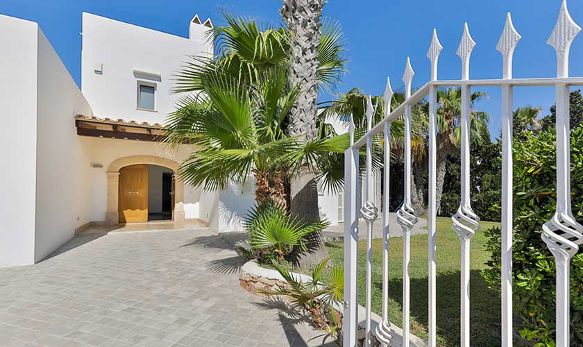 Eingang Ferienvilla Mallorca PM 6532