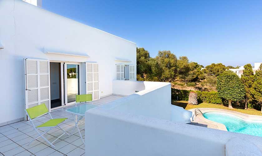 Terrasse oben Ferienvilla Mallorca PM 6532