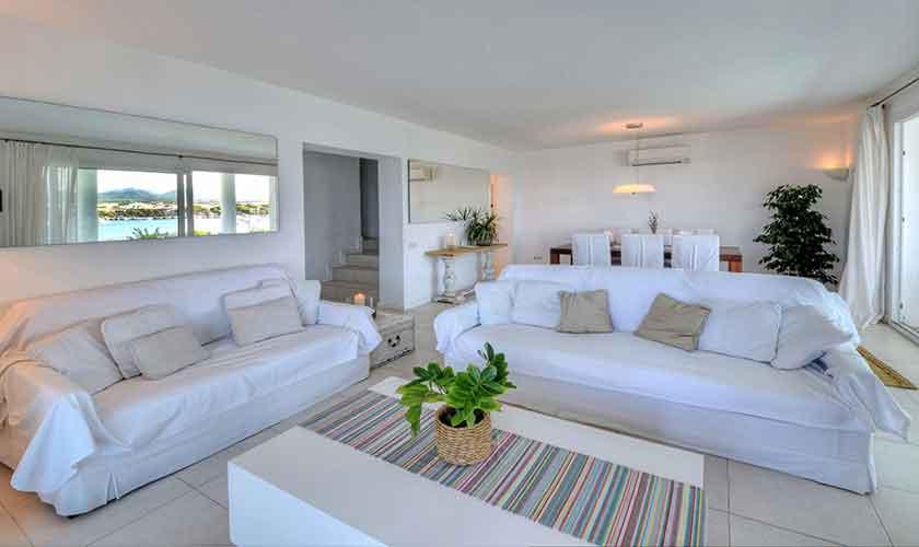 Wohnraum Ferienvilla Mallorca PM 6534