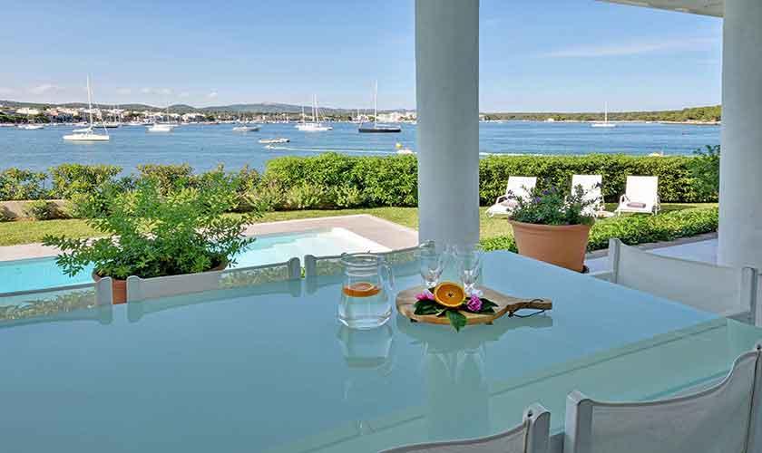 Terrase und Meerblick Villa Mallorca PM 6534