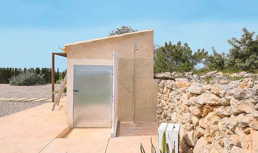 Außendusche Finca Mallorca für 4 Personen PM 6537