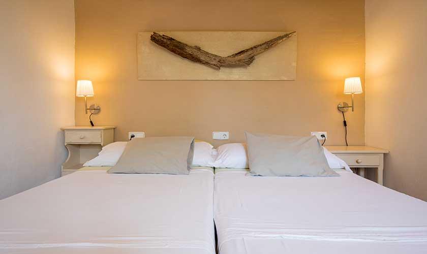 Schlafzimmer Ferienfinca Mallorca PM 6538