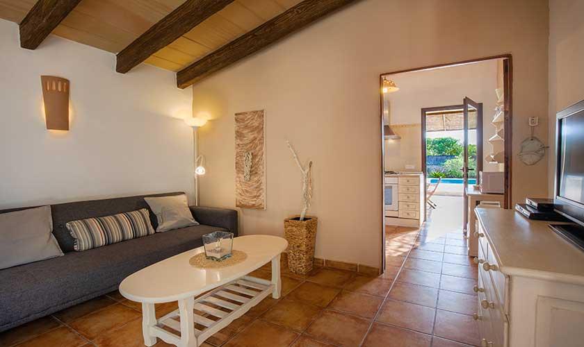 Wohnraum Ferienfinca Mallorca PM 6538
