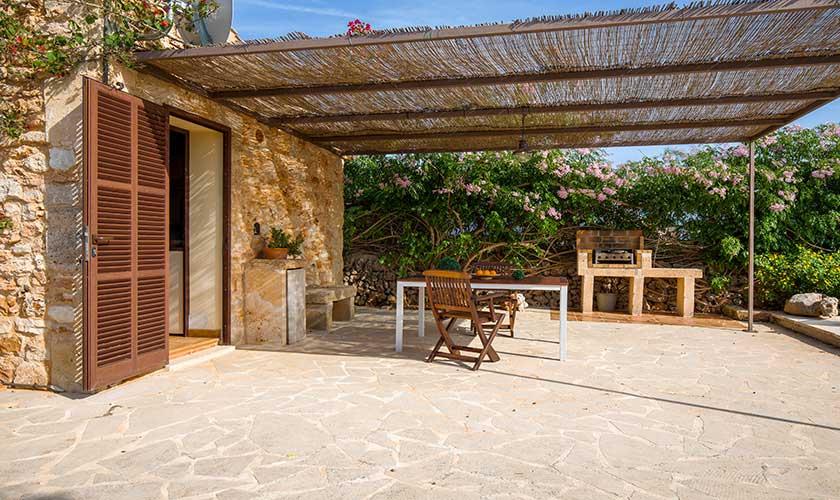 Terrasse Ferienfinca Mallorca PM 6538