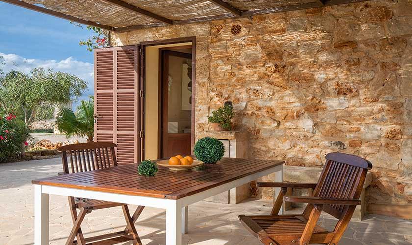 Terrasse und Ferienfinca Mallorca PM 6538