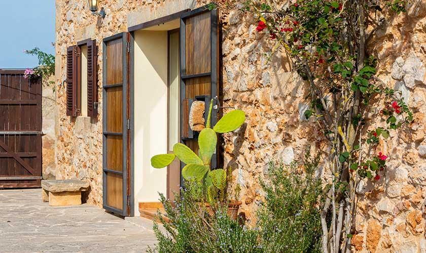 Blick auf die Ferienfinca Mallorca PM 6538