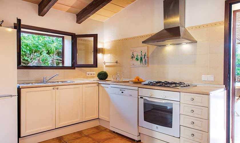 Küche Ferienfinca Mallorca PM 6538