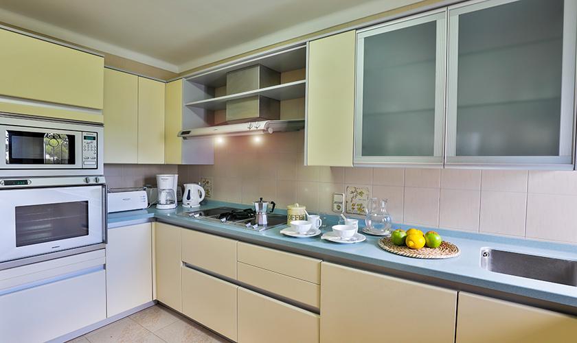 Küche Ferienvilla Mallorca PM 6539