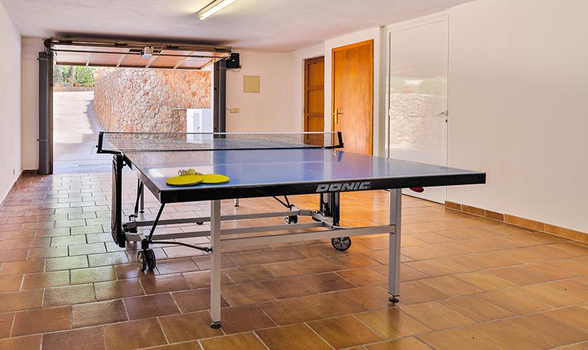 Tischtennis Ferienvilla Mallorca PM 6539