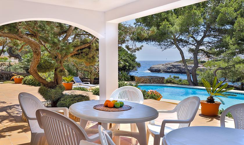 Terrasse Ferienvilla Mallorca PM 6539