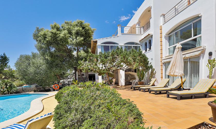 Pool und Terrasse Ferienvilla Mallorca PM 6539