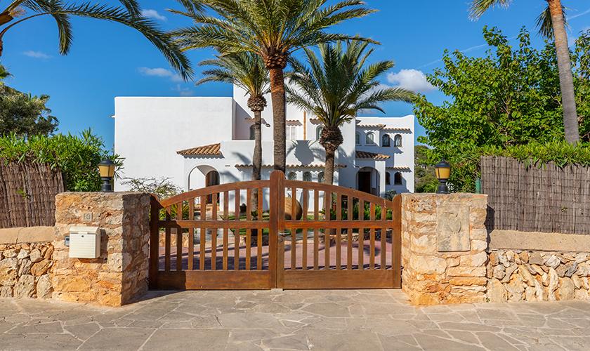 Eingang  Ferienvilla Mallorca PM 6539