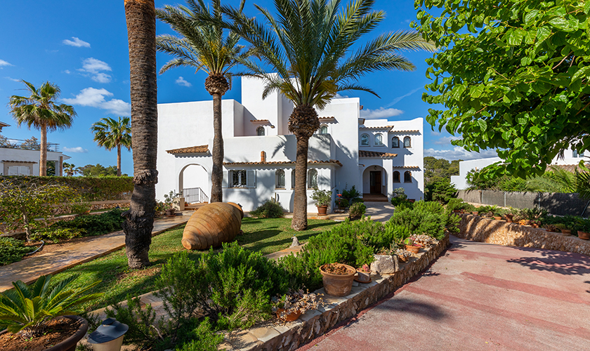 Blick auf die Ferienvilla Mallorca PM 6539