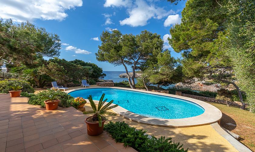Poolblick Ferienvilla Mallorca PM 6539