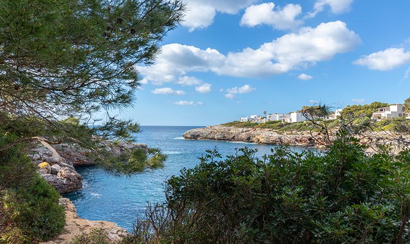 Meereszugang Ferienvilla Mallorca PM 6539