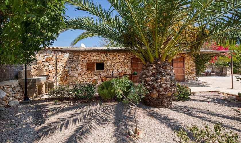 Blick auf die Finca Mallorca PM 6540