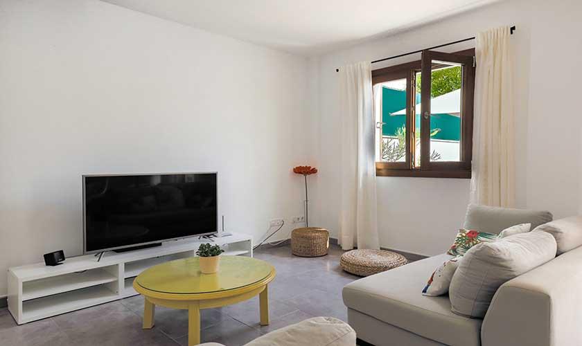 Wohnraum Ferienhaus Cas Concos PM 6541